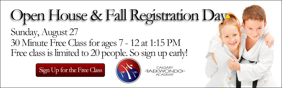 Open House and Fall Registration Day