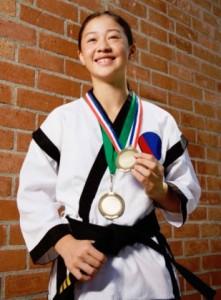 Competitive teams at Calgary Taekwondo